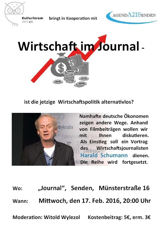 Plakat Schumann