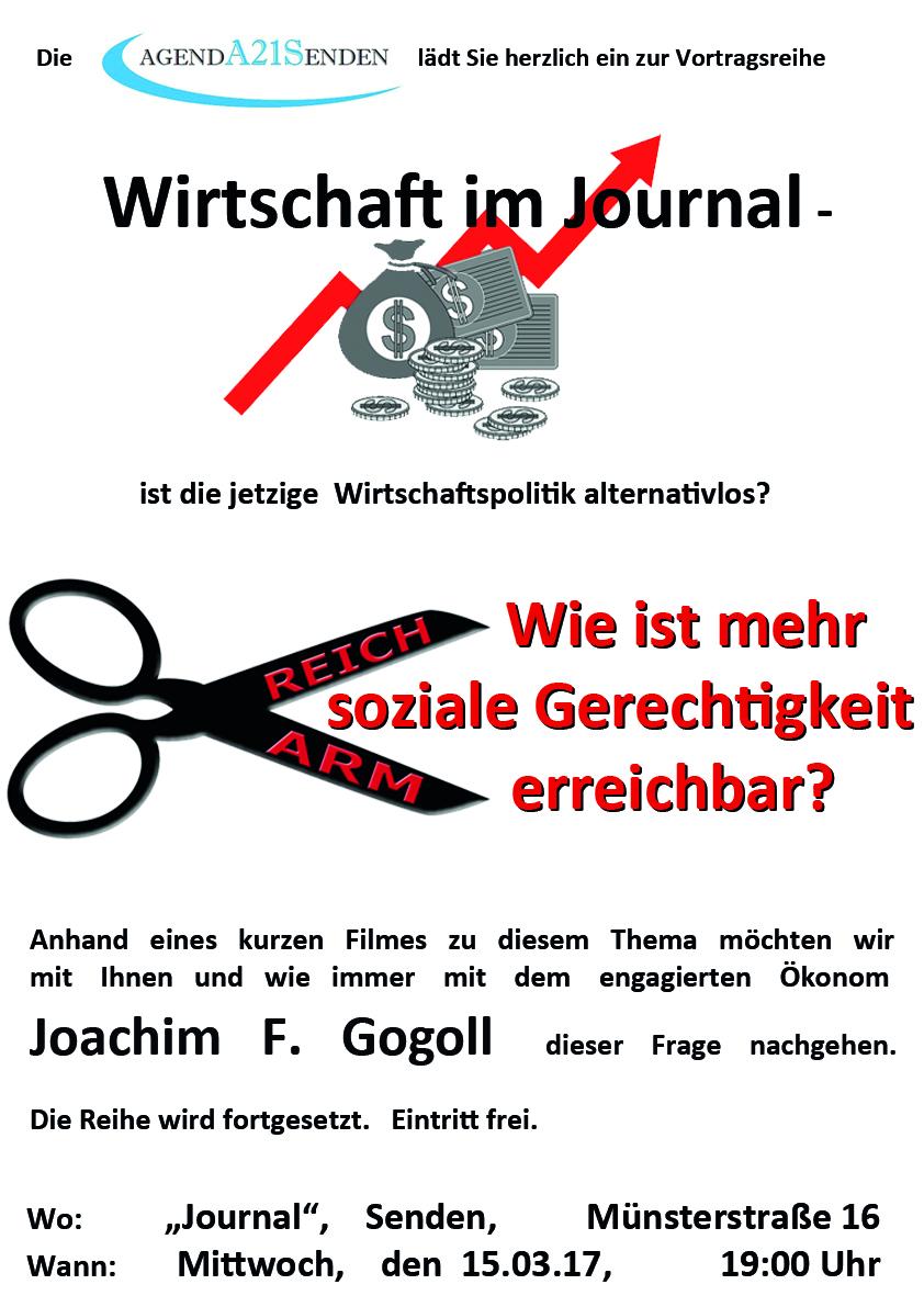 Wirtschaft im Journal am 15. März - die Schere zwischen ARM und ...